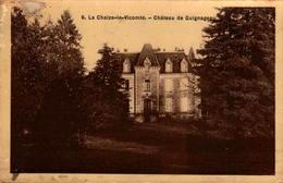 85 - La Chaize-le-Vicomte - Château De Guignageau - La Chaize Le Vicomte