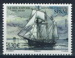 """Saint Pierre And Miquelon, Ship, """"le Bel Espoir"""", 2018, MNH VF - Unused Stamps"""