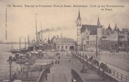 Antwerpen,  Anvers, Zicht Op Het Noorderterras En Steen (pk49336) - Antwerpen