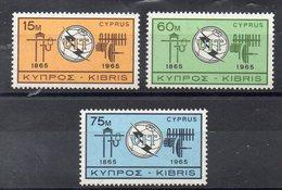 CHYPRE  Timbres Neufs ** De 1965  ( Ref 5421 )   U.I.T - Cyprus (Republic)