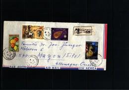 Morocco / Maroc Interesting Airmail Letter - Morocco (1956-...)