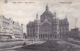 Antwerpen,  Anvers, Plade De La Gare, Gare Centrale (pk49341) - Antwerpen