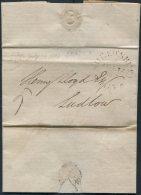 1807 GB Shrewsbury Entire - Ludlow - Great Britain