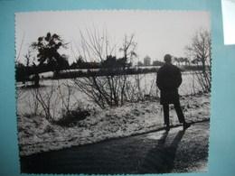 PHOTOGRAPHIE GRAND FORMAT -  NEVERS - 58 - La Route D'Urzy  -  1968 -  12,2  X 14,5  Cms  - Nièvre - Lieux