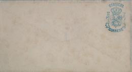 SOBRE SIN CIRCULAR CON MARCA DE FRANQUICIA DEL CONGRESO , 1876 - 1879 , Nº FS - 10 - 1875-1882 Royaume: Alphonse XII