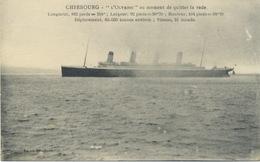 "50 -Cherbourg  : ""L'Olympic ""Jumeau Du Titanic. - Cherbourg"