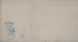 SOBRE SIN CIRCULAR CON MARCA DE FRANQUICIA DEL SENADO , 1876 - 1879 , Nº FS - 11 - 1875-1882 Royaume: Alphonse XII