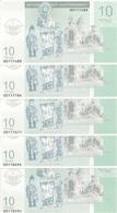 NAGORNO KARABAKH 10 DRAM 2004 UNC ( 5 Billets ) - Nagorno Karabakh