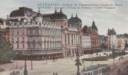 Antwerpen,  Anvers, Zicht Op De Frankrijklei En Vlaamsche Opera (pk49361) - Antwerpen