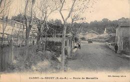 CPA CARRY-Le-ROUET - Route De Marseille - Carry-le-Rouet