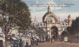 Antwerpen,  Anvers, De Keyserlaan En Middenstatie (pk49364) - Antwerpen