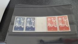 LOT 403687 TIMBRE DE FRANCE NEUF** N°565/566 PT DE ROUILLE - France