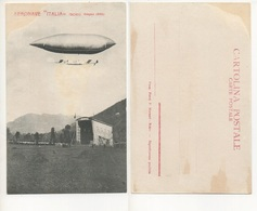"AERONAVE "" ITALIA "" ( SCHIO, GIUGNO 1905 ) #1 - Dirigibili"