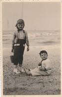 De Panne Cachet,(Blankenberge ,Koksijde,De Haan  ,Oostende),fotokaart ,photocarte,plaisir De La Plage 23-6-1959,enfant - Blankenberge