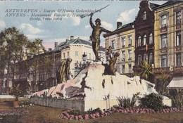 Antwerpen,  Anvers, Baron D'Hanis Gedenkteken (pk49373) - Antwerpen