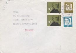 BUSTA VIAGGIATA  - GERMANIA  -  DESTINAZIONE - SESTRI LEVANTE - GENOVA  ( ITALIA ) - 1962 - [7] Repubblica Federale