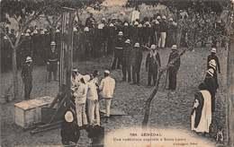 CPA Sénégal - Une Exécution Capitale à Saint-Louis - Senegal