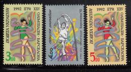 Ukraine 1992 MNH Scott #134-#136 Set Of 3 Athletes - Summer Olympics Barcelona - Ukraine