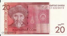 KIRGHIZISTAN 20 SOM 2009 UNC P 24 - Kirghizistan