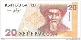 KIRGHIZSTAN 20 SOM ND1994 UNC P 10 - Kirghizistan