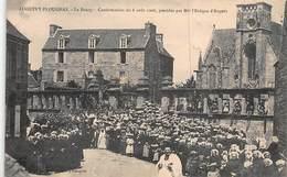 CPA LOGUIVY-PLOUGRAS - Le BOURG - Confirmation Du 6 Août 1906, Présidée Par Mgr L' Evêque D' Angers - Other Municipalities