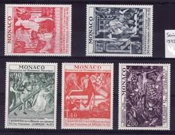 Serie 1972  N** M141 - Monaco