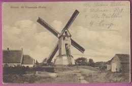 AK Ghistel, De Vlaemsche Molen ,Moulin,Mühle  Feldpost,1.WK 1917 - Gistel