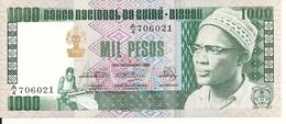 GUINEE-BISSAU 1000 PESOS 1978 UNC P 8 B - Guinea-Bissau
