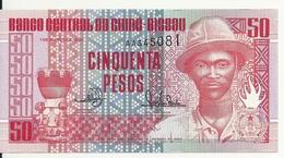 GUINEE-BISSAU 50 PESOS 1990 UNC P 10 - Guinea-Bissau