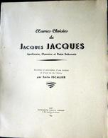 05 HAUTES ALPES OEUVRES CHOISIES DE JACQUES JACQUES APOTHICAIRE CHANOINE POETE   QUEYRAS BRIANCONNAIS DURANCE 1942 - 1701-1800