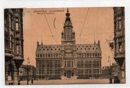 BRUXELLES-SCHAERBEEK-MAISON COMMUNALE-VIAGGIATA - Schaerbeek - Schaarbeek