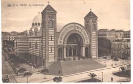 POSTAL   ORAN -ARGELIA  - LA CATHÉDRALE - Argelia