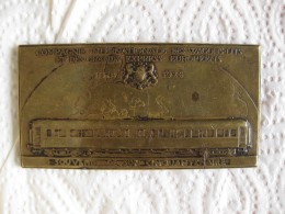 Médaille 50e Anniversaire De La Compagnie Internationale Des Wagons-Lits 1926, Par Dropsy - France