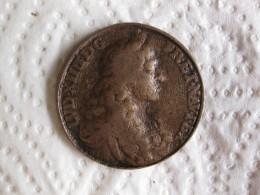 Médaille D'époque  LOUIS XIV ET MARIE THERESE 1672 - 1680 - France
