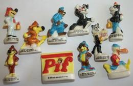 Pif Et Hercule Série Compète De 10 Fèves (CG) - Strips