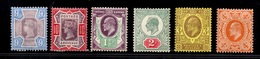 Grande-Bretagne Six Timbres Anciens Neufs * 1887/1910. Bonnes Valeurs. B/TB. A Saisir! - Unused Stamps