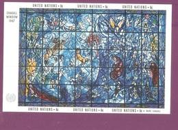UN - 1967.Chagall, Block, MNH - New York - Sede De La Organización De Las NU