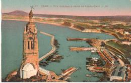 POSTAL   ORAN -ARGELIA  - VUE GÉNÉRALE PRISE DE SANTA CRUZ  ( VISTA GENERAL DESDE SANTA CRUZ) - Argelia