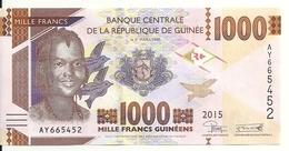 GUINEE 1000 FRANCS 2015 UNC P 48 - Guinée