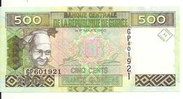GUINEE 500 FRANCS 2006 UNC P 39 - Guinée