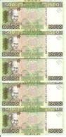 GUINEE 500 FRANCS 2006 UNC P 39 ( 5 Billets ) - Guinée