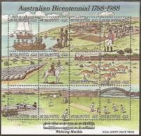Tonga-Niuafo'ou,  Scott 2018 # 98,  Issued 1988,  S/S Of 12, MNH,  Cat $ 23.00,  Music - Tonga (1970-...)