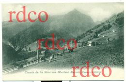 CH SUISSE, Chemin De Fer Montreux-Oberland-Bernois, Paysage D'Allières; Switzerland - VD Vaud