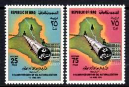 IRAK - 1976 - N° 794/5 ** Pétrole - Iraq