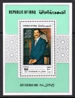 IRAK - 1980 - BLOC N° 30 ** Président Saddam Hussein - Iraq
