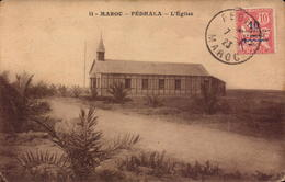 Maroc Fedhala, L Eglise     (etat Voir Photos) - Morocco