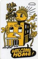 Chiave Magnetica- Hotel Key- Card Magnetic-LIDO SPA HOTEL-JEREMYVILLE - Chiavi Elettroniche Di Alberghi