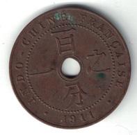 INDOCHINE FRANCAISE - 1 CENT DE 1911. - Viêt-Nam