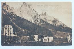 San Martino Di Castrozza, Grand Hotel Des Alpes, Incendiato Dagli Austriaci, 24-30 Maggio 1915, Italia Italy - Trento