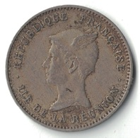 REUNION - ILE DE LA REUNION - 50 CENT DE 1896. - Réunion